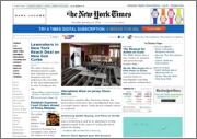 Example of the NY Times as PDF